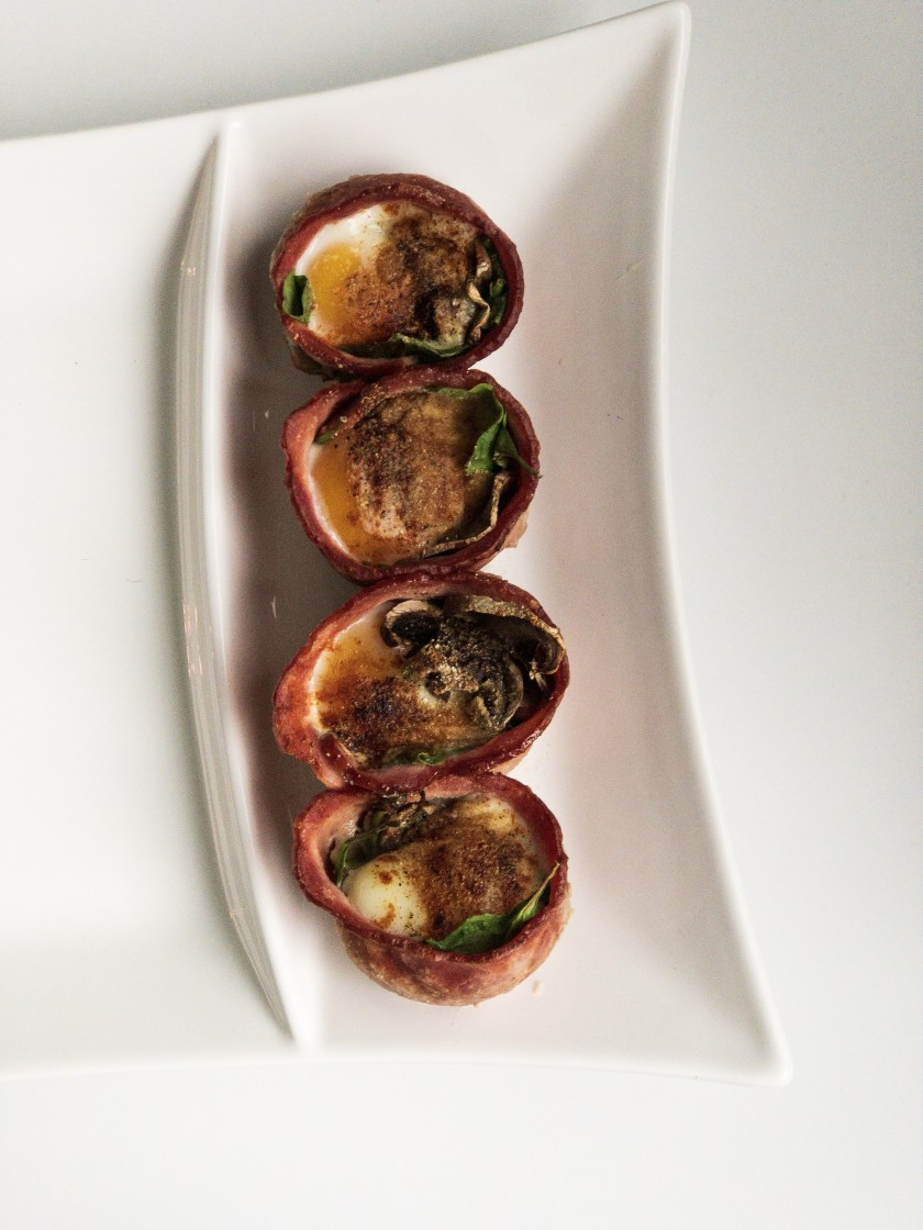 Turkey Bacon Egg Cups